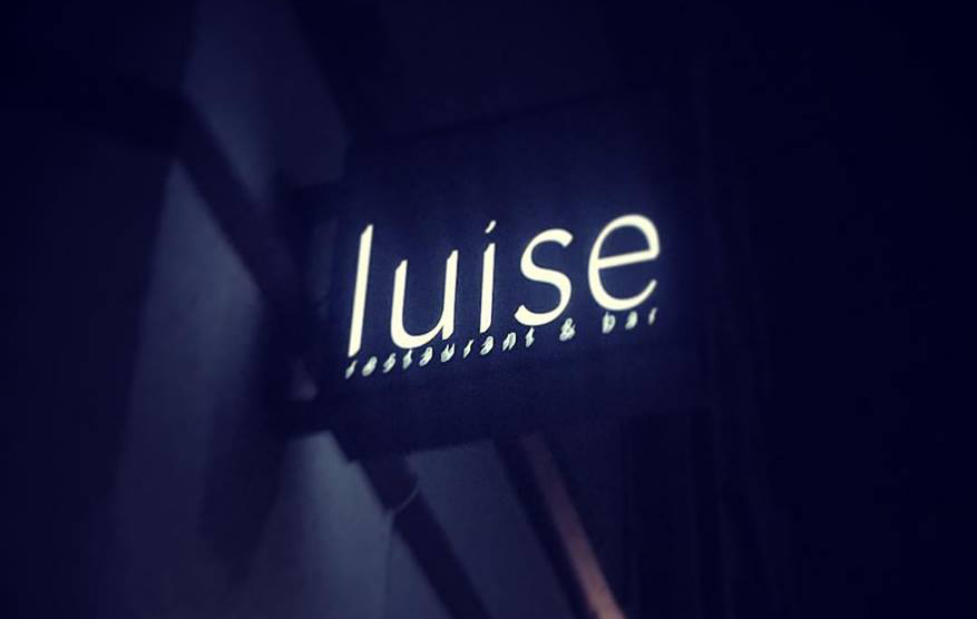 luise | restaurant & bar from inside