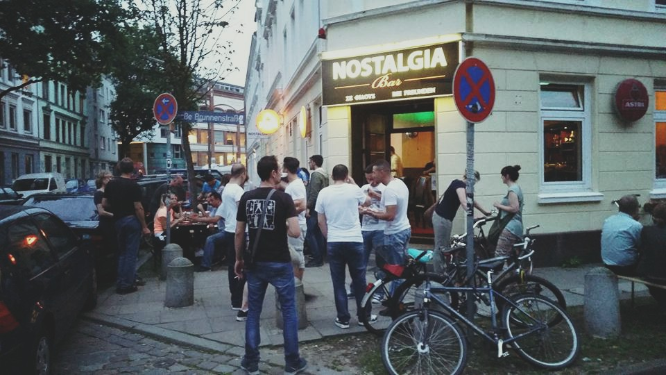 Nostalgia - Bar from inside