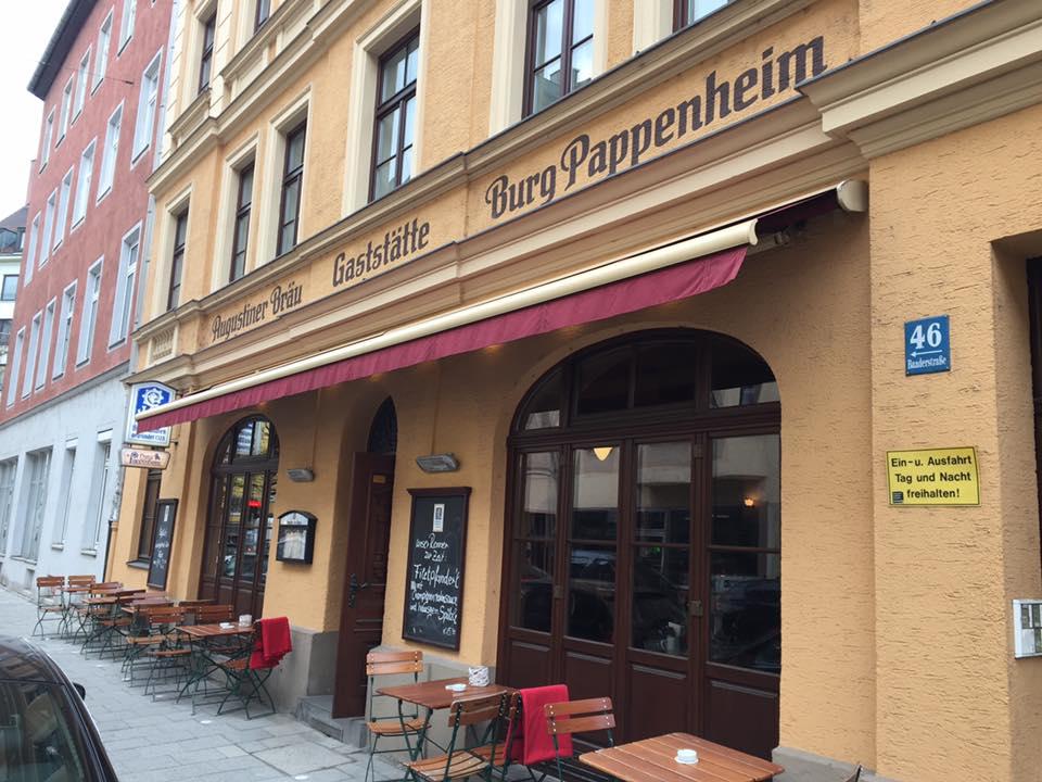 Burg Pappenheim from inside